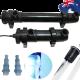 Jebao PU18 18W 4500L/H Aquarium Aqua UV Light Filter Sterilizer Fish Tank Pond Water Marine