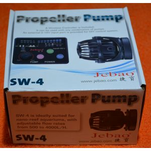 Jebao SW-4 (RW-4 Replacement) Programmable Wave maker + Wireless Controller 500-4000L/h