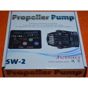 Jebao SW-2 Programmable Wave maker + Wireless Controller 500-2500L/h